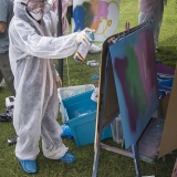 mangotsfield festival 2016 stalls 04754