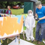 mangotsfield festival 2016 stalls 04757